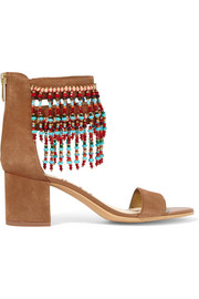 Sibel embellished suede sandals