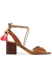 Shani tasseled leather sandals