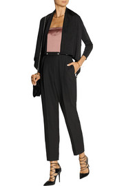 Hervé Léger Ariana cropped stretch-knit cardigan