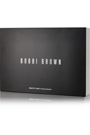 Bobbi Brown Faux textured-leather cosmetics case