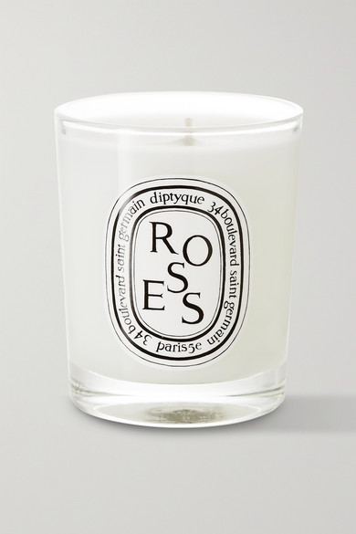 7b5f52367bbc4 Diptyque. Roses scented candle ...