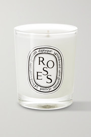 Roses scented candle, 70g