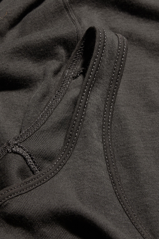 Rick Owens Cotton-jersey dress