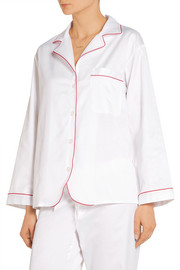 Bodas Cotton-poplin pajama top