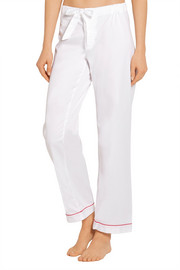 Bodas Cotton-poplin pajama pants