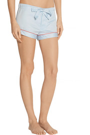 Bodas Cotton-sateen pajama shorts