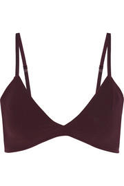 Sheer Tactel® soft-cup bra