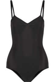 Stretch-jersey leotard