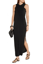 By Malene Birger Allianda draped stretch-jersey maxi dress