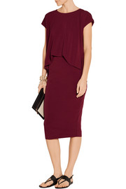 By Malene Birger Bixia stretch-crepe dress