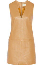 Gade leather mini dress
