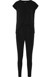 Darliano stretch-crepe jumpsuit