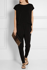 By Malene Birger Darliano stretch-crepe jumpsuit