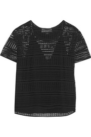 By Malene Birger Onestianna broderie anglaise cotton top