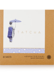 Tatcha Aburatorigami Japanese Beauty Papers, 3 x 30 sheets