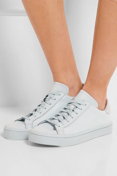 best service 8d162 e1364 adidas Originals. Court Vantage Adicolor reflective coated mesh sneakers