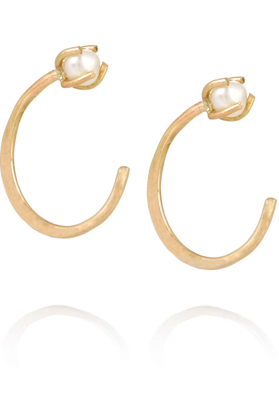 14-Karat Gold Pearl Earrings, Melissa Joy Manning, Women's