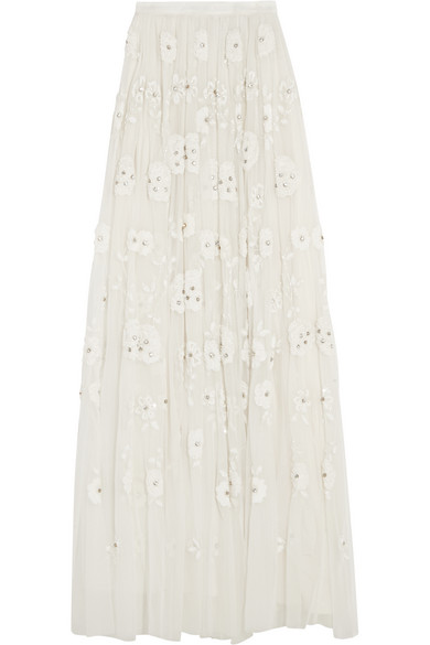 2d8207b413 Needle & Thread | Embellished tulle maxi skirt | NET-A-PORTER.COM