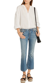 M.i.h Jeans Crinkled-cotton blouse