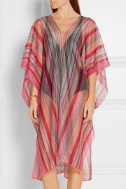 Missoni Crochet-knit kaftan