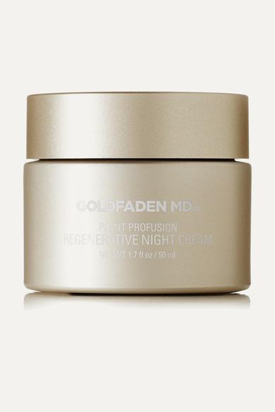 GOLDFADEN MD Plant Profusion Regenerative Night Cream, 50Ml - Colorless