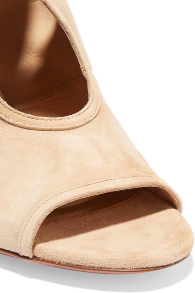 Aquazzura Sexy Thing Sandalen aus Veloursleder mit Cut-outs Outlet Angebote 100% Original Online Günstig Kaufen Preis 2018 Neuer Günstiger Preis Günstig Kaufen Sast 2mA8y