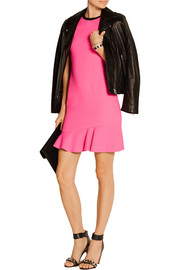 Emilio Pucci Fluted stretch-wool mini dress