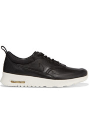 Air Max Thea textured-leather sneakers
