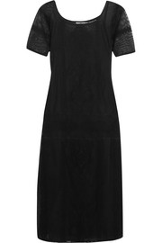 Mes Demoiselles Patiente embroidered cotton-mesh dress