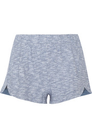 Carla cotton-jersey pajama shorts