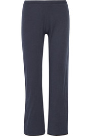Emily pima cotton-jersey pajama pants