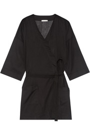 Skin Ryder striped Pima cotton robe