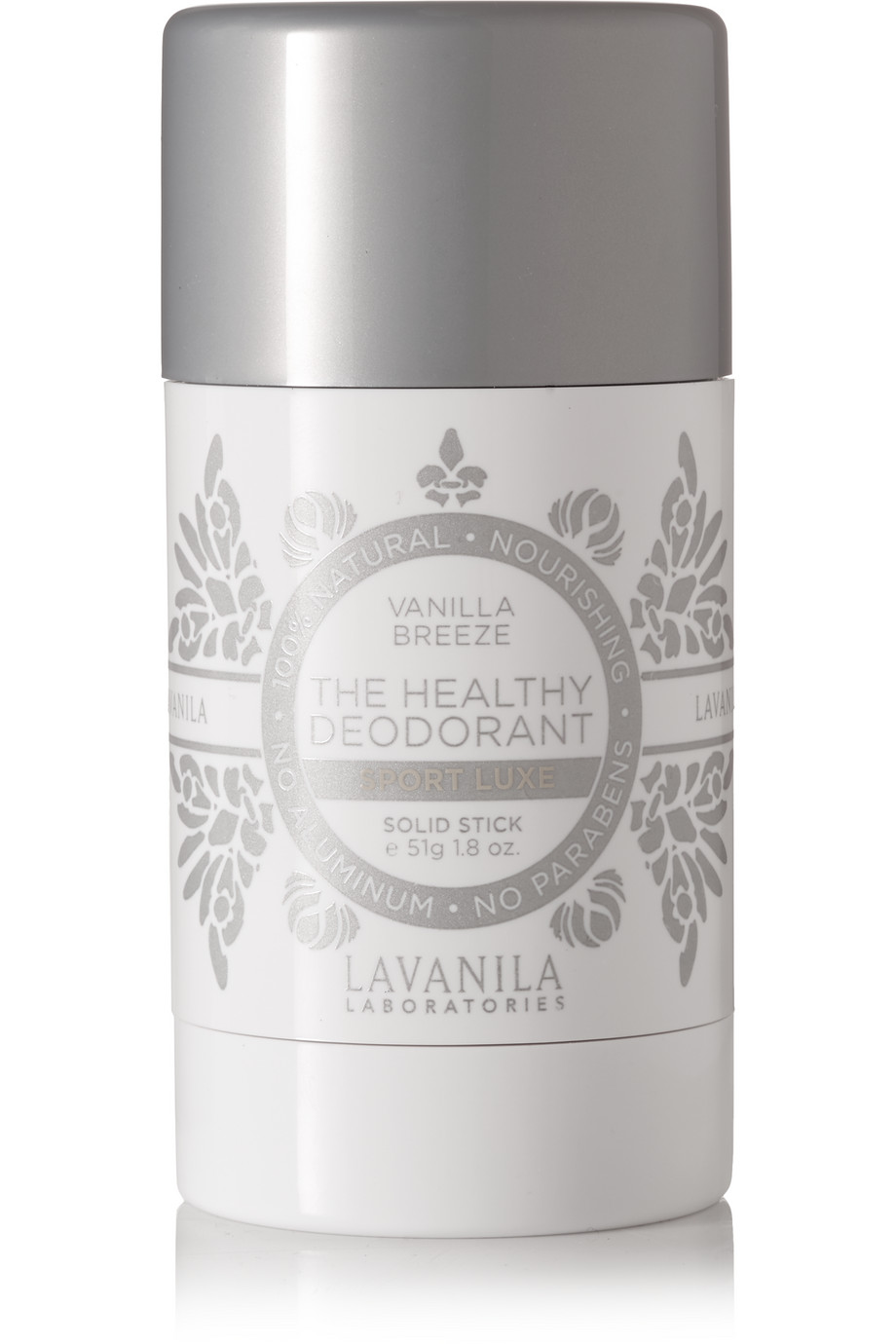 The Healthy Deodorant - Sport Luxe Vanilla Breeze, 51g, by Lavanila Laboratories