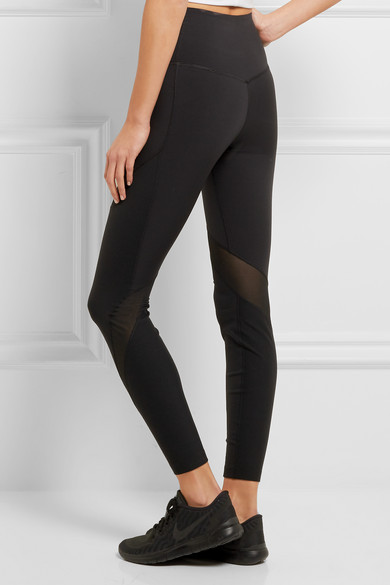 catch where can i buy authorized site NikeLab Essentials Dri-FIT mesh-paneled stretch leggings