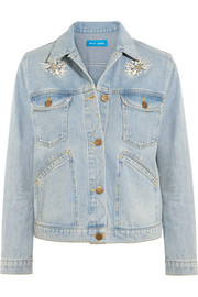 M.i.h Jeans Embroidered denim jacket