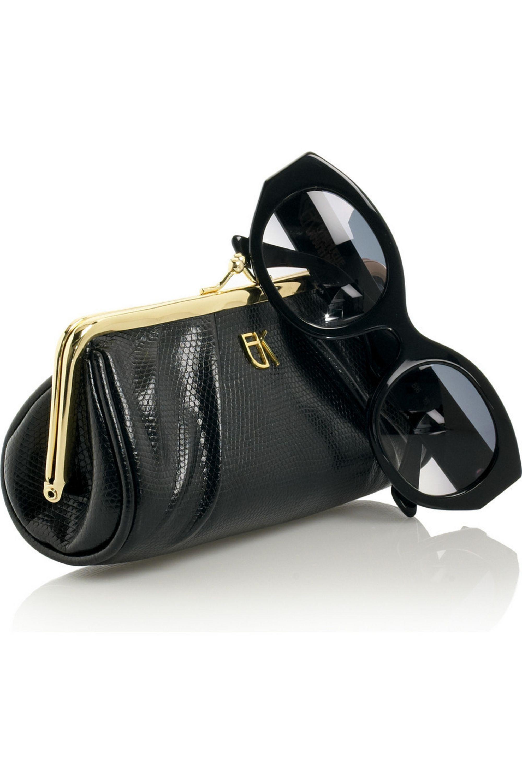 Emmanuelle Khanh Cat-eye frame acetate sunglasses