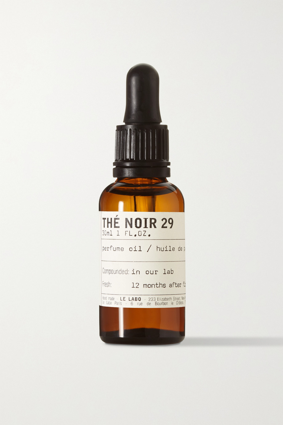 Le Labo Thé Noir 29 Perfume Oil - Black Tea Essence, 30ml