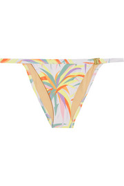 L'Agent by Agent Provocateur Tayler printed bikini briefs