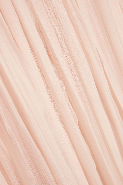 Needle & Thread Crinkled-chiffon maxi skirt