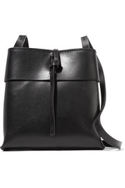 Nano Tie leather shoulder bag
