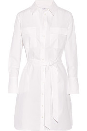 Delaney cotton-poplin shirt dress