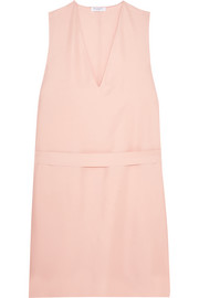 Prudence washed-silk dress