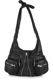Donna leather shoulder bag