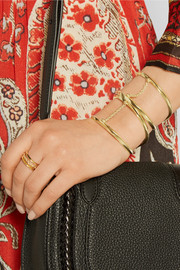 Suspension gold-plated cuff