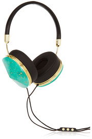 Taylor leather and resin headphones