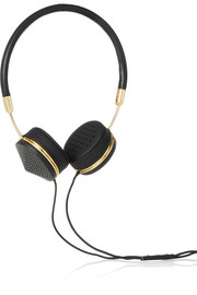 Layla Galluchat leather and stingray headphones