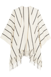 Rag & bone Striped merino wool wrap