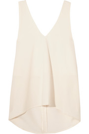 Renac stretch-crepe top