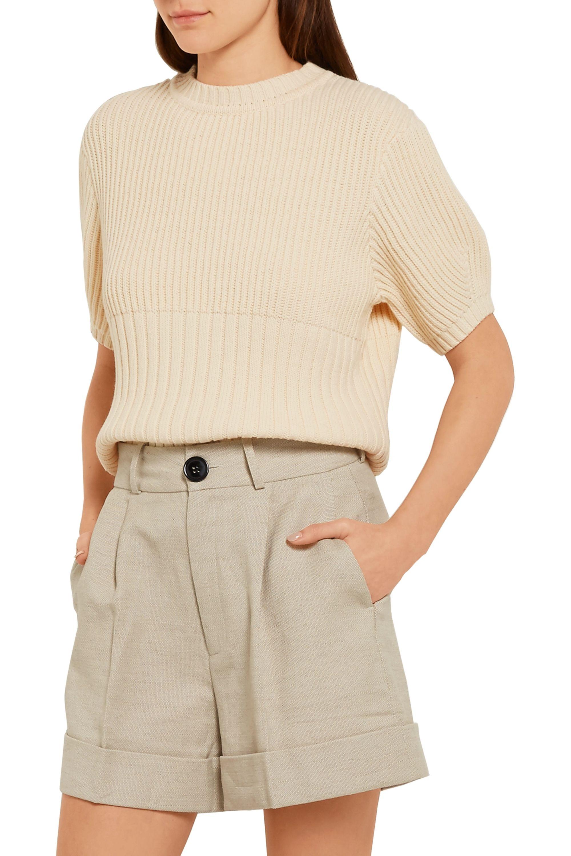 Totême Serreval ribbed cotton-blend sweater