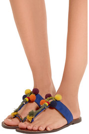 Gemina embellished suede sandals